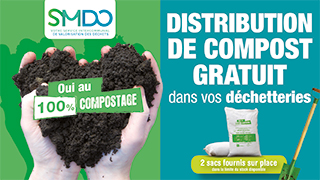 SMDO - Distribution de compost gratuit